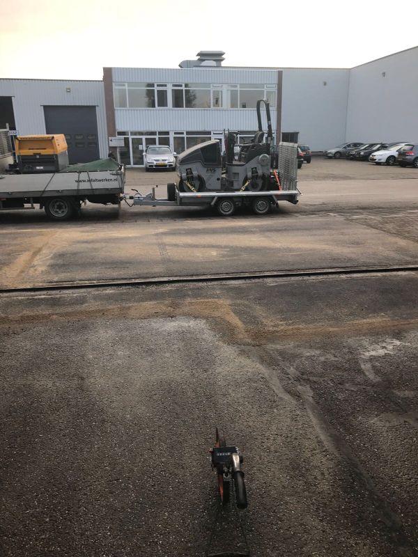 asfalteringswerken