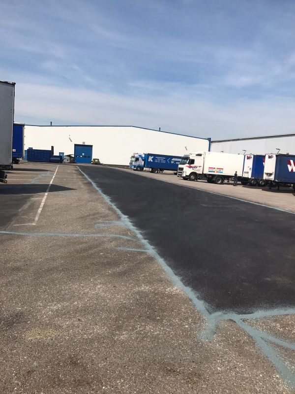 asfaltonderhoud bedrijventerrein