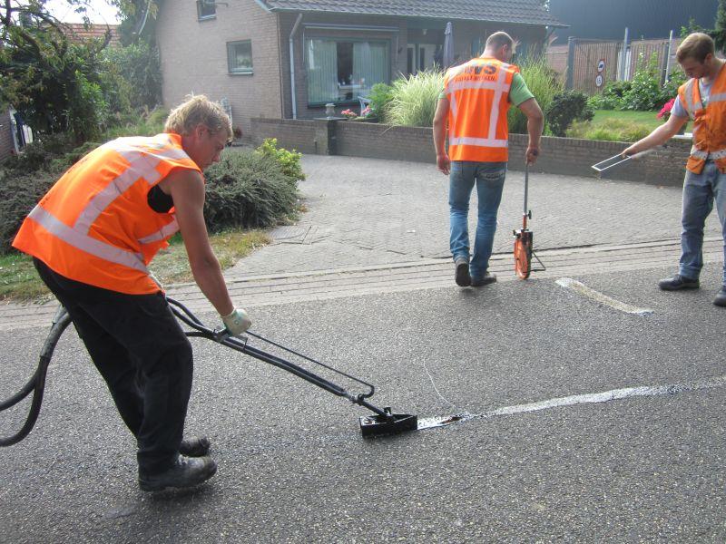 asfalt scheuren