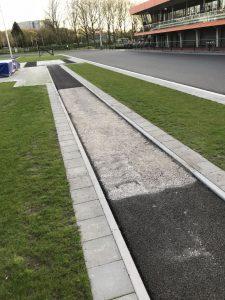 asfalt atletiekbaan