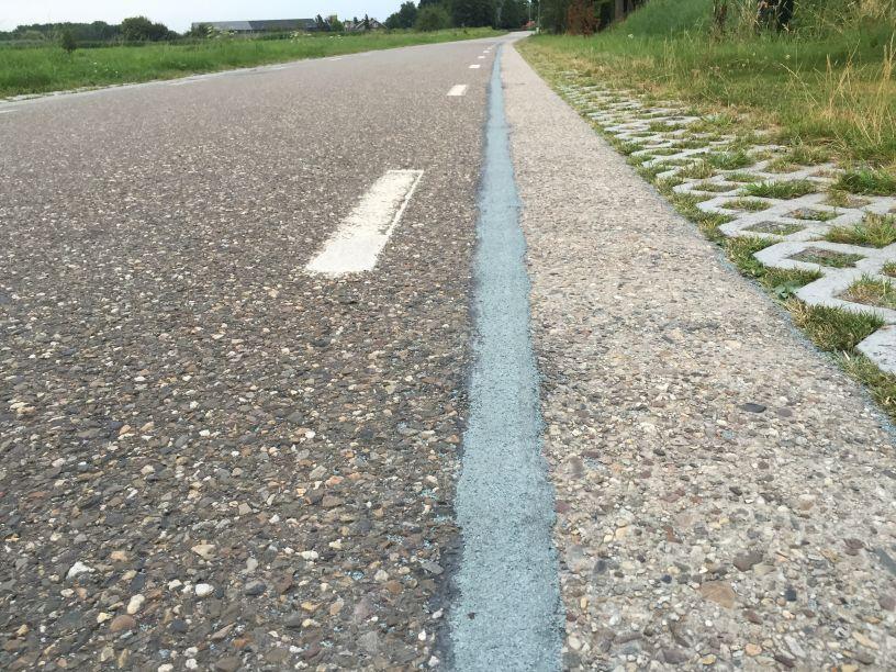 Voegband asfalt beton