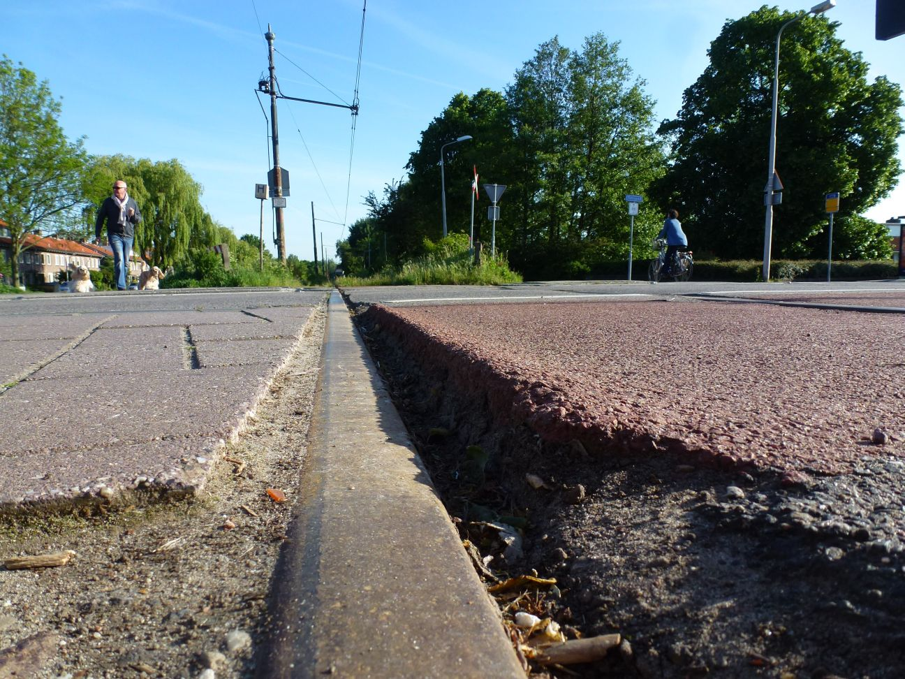 asfalt tramrails