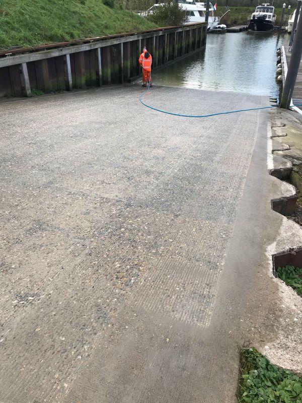 Opruwen beton