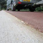 Op de millimeter nauwkeurig asfalt verwijderd in Susteren.
