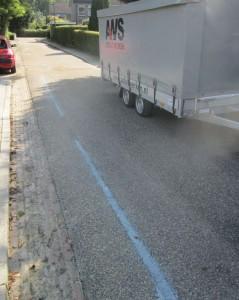 reparatie asfalt scheuren