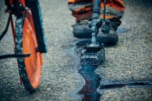 asfaltscheuren