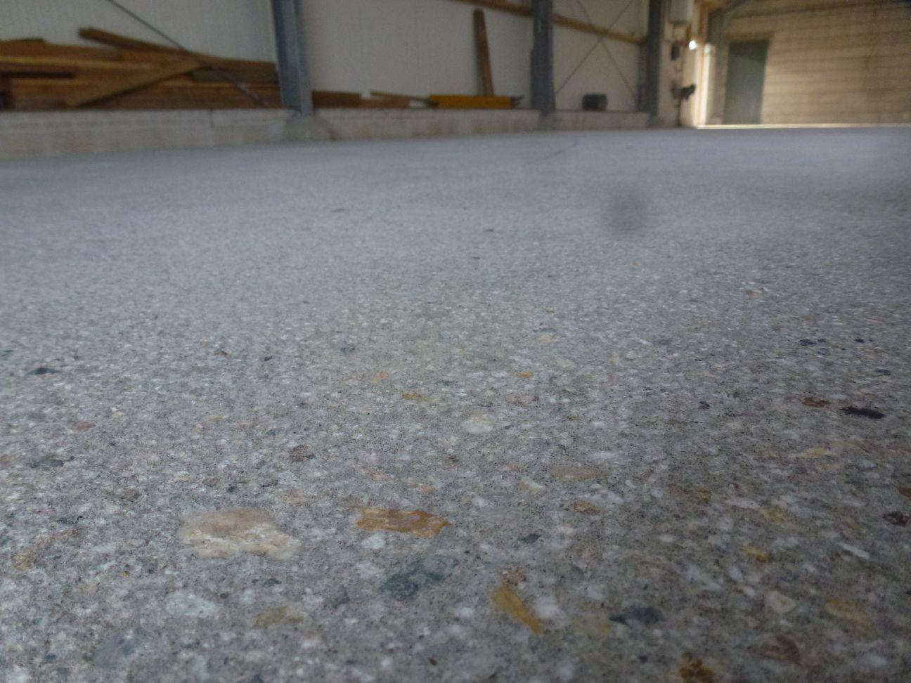 Betonvloer opruwen