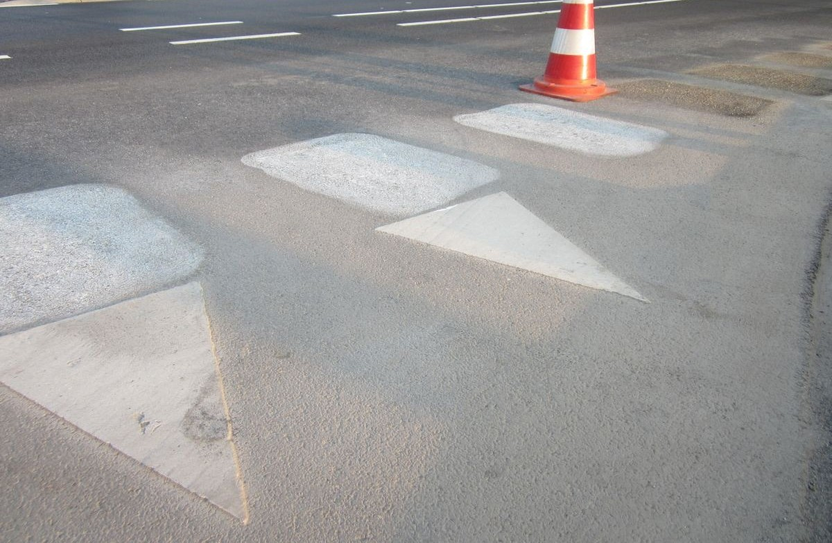 Wegmarkering verwijderen
