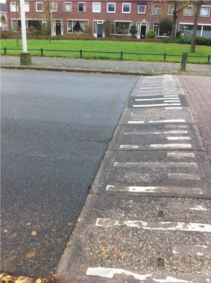 asfalt aansluiting drempel