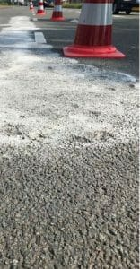 beton van asfalt